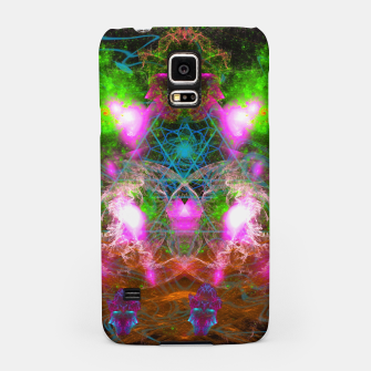 Thumbnail image of Angels From Twin Worlds (psychedelic, galaxy, visionary, abstract) Samsung Case, Live Heroes