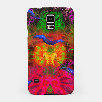 Thumbnail image of Cthulhu and His Minions (scifi, sci-fi, slugs) Samsung Case, Live Heroes
