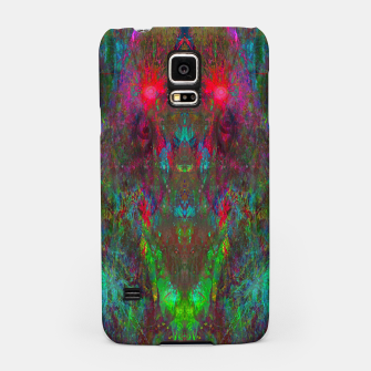 Miniatur Oracular Ether (abstract, eyes, eyeballs) Samsung Case, Live Heroes