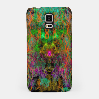 Miniatur Frenetic Vibrations of Butterfly Wings (abstract) Samsung Case, Live Heroes