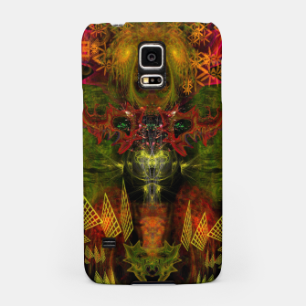 Miniatur Ca Light (psychedelic, totem, visionary art) Samsung Case, Live Heroes