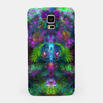 Thumbnail image of Evening Glory Vortex (psychedelic, visionary, psytrance, trippy) Samsung Case, Live Heroes