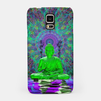 Miniatur Cool Water Zen (psychedelic, meditation, mandala) Samsung Case, Live Heroes