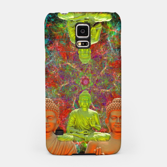 Miniatur Entrain The Mind (psychedelic, meditation) Samsung Case, Live Heroes