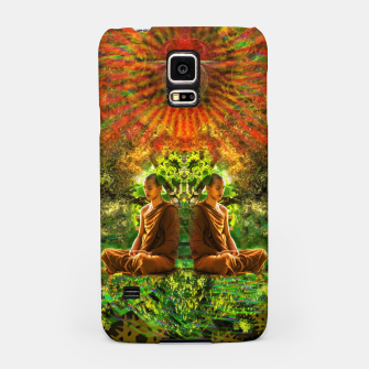 Thumbnail image of Glow of The Mind (visionary, meditation) Samsung Case, Live Heroes