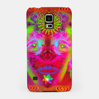 Thumbnail image of Psychedelic Sugar Skull (ultraviolet, psychedelic, halloween, muertos) Samsung Case, Live Heroes