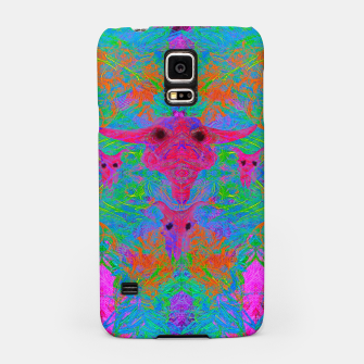 Thumbnail image of Foliage Predation (ultraviolet, animal skulls, psychedelic) Samsung Case, Live Heroes
