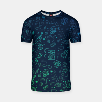 Miniature de image de Geek Color T-shirt, Live Heroes