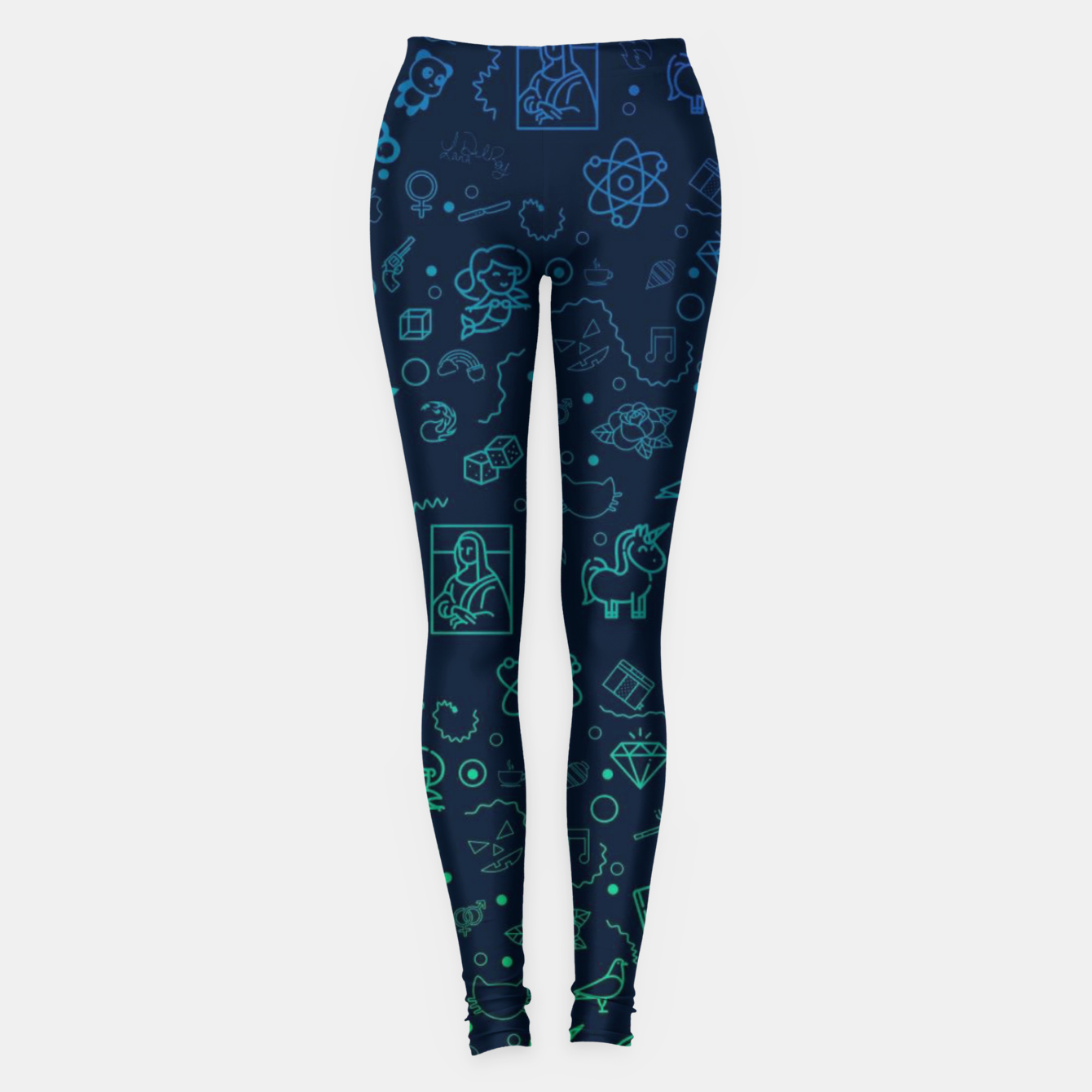 Image de Geek Color Leggings - Live Heroes