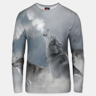 Thumbnail image of Unisex sweater / Wolf, Live Heroes