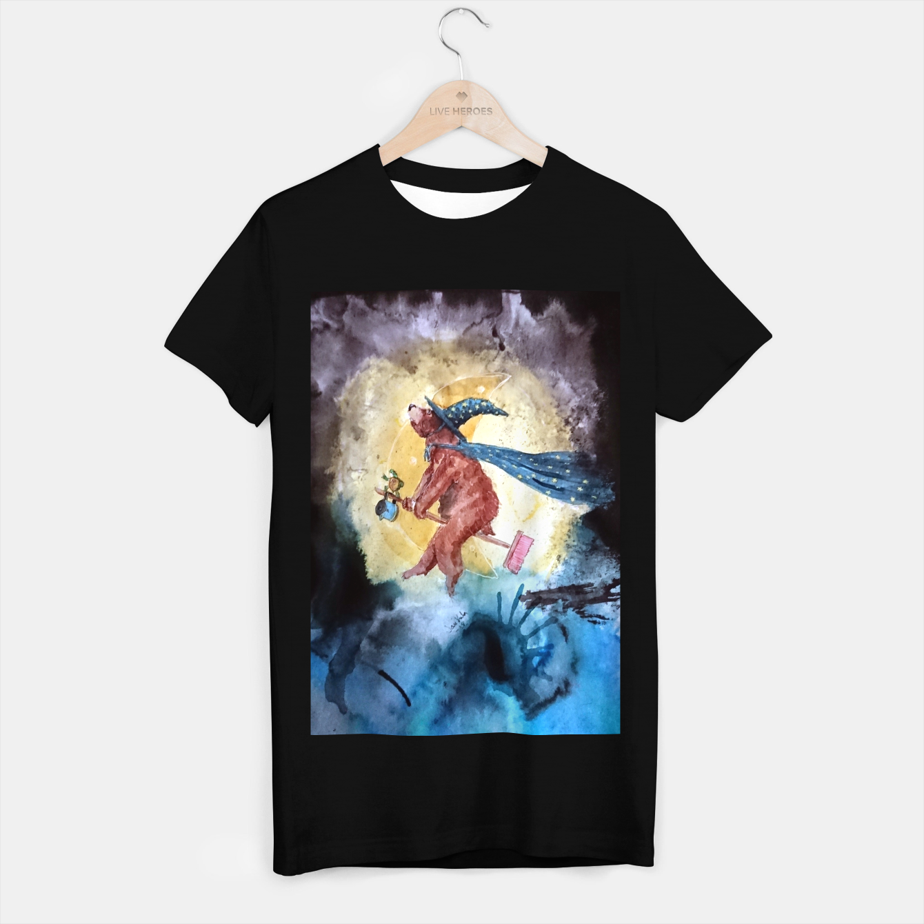 Image of Bearwitch T-shirt regular - Live Heroes