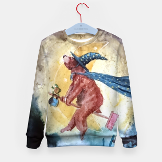 Thumbnail image of Bearwitch Kid's sweater, Live Heroes