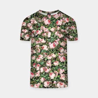 Thumbnail image of Pink roses T-shirt, Live Heroes