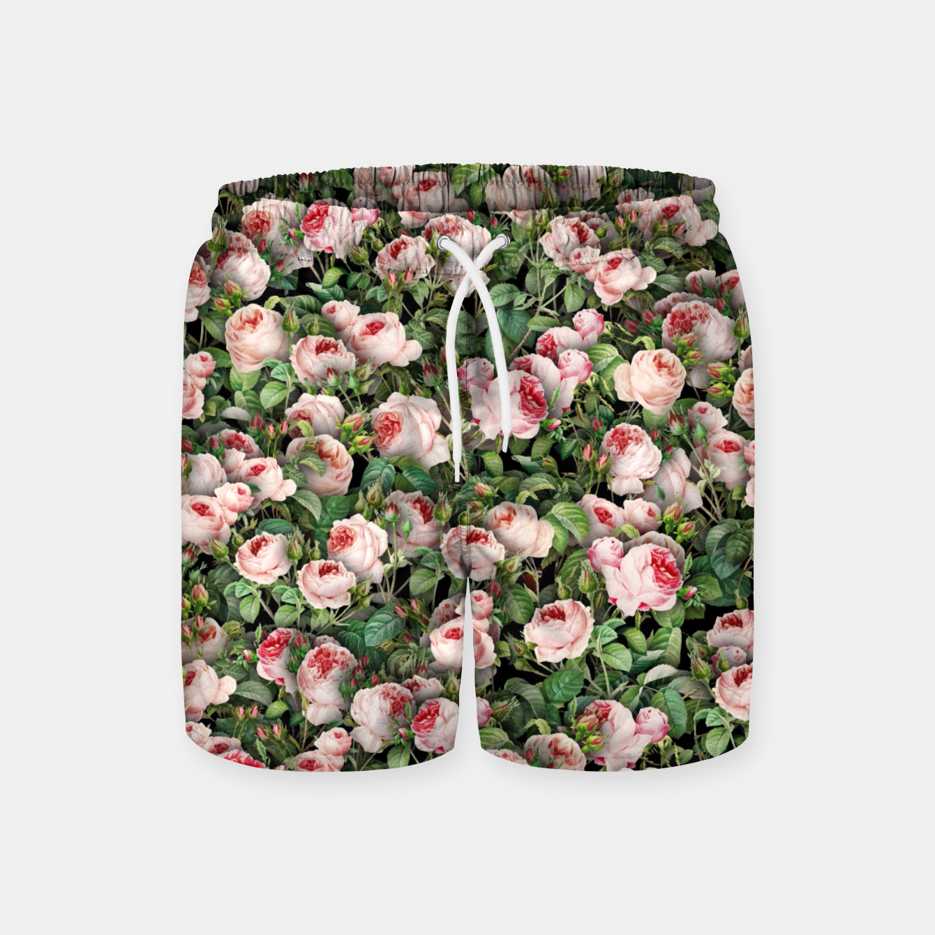 Image of Pink roses Swim Shorts - Live Heroes