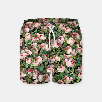 Thumbnail image of Pink roses Swim Shorts, Live Heroes