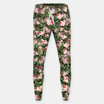 Pink roses Sweatpants miniature