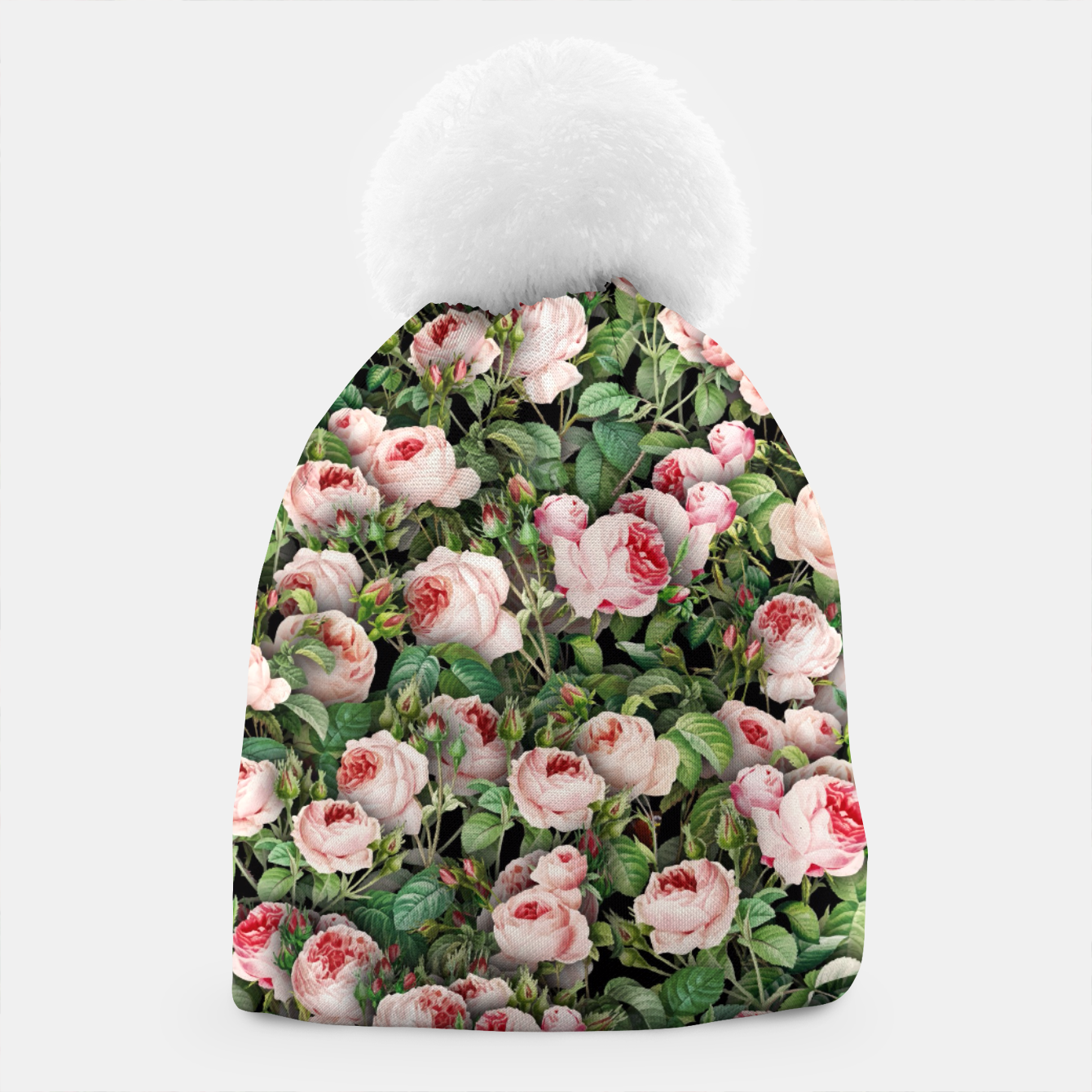 Image of Pink roses Beanie - Live Heroes