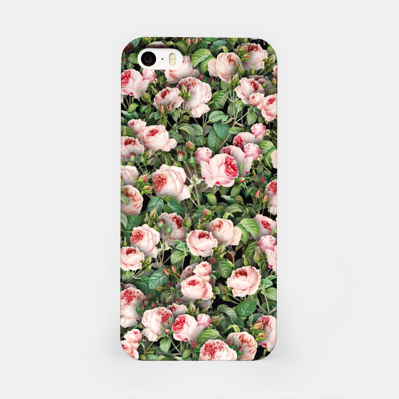 Image of Pink roses iPhone Case - Live Heroes