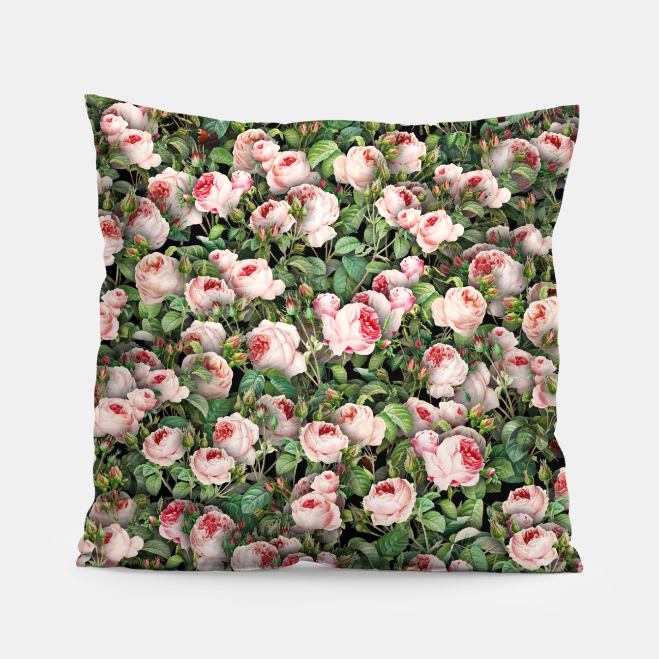 Image of Pink roses Pillow - Live Heroes