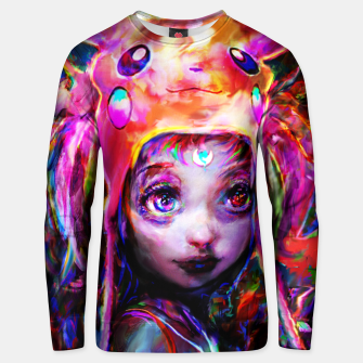 geek girl Unisex sweater obraz miniatury
