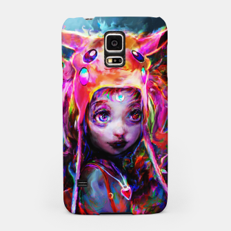 Thumbnail image of geek girl Samsung Case, Live Heroes