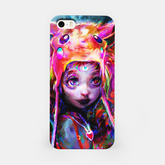geek girl iPhone Case obraz miniatury