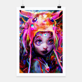 Thumbnail image of geek girl Poster, Live Heroes