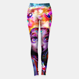 geek girl Leggings obraz miniatury