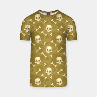 Thumbnail image of Skull Pattern - 01 T-shirt, Live Heroes