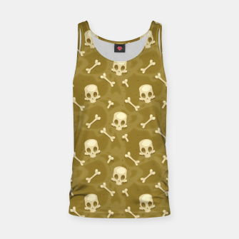 Thumbnail image of Skull Pattern - 01 Tank Top, Live Heroes