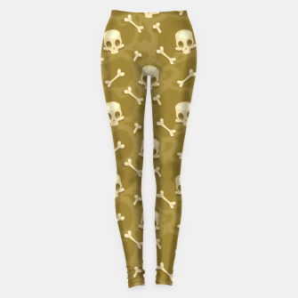 Thumbnail image of Skull Pattern - 01 Leggings, Live Heroes