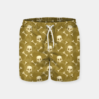 Thumbnail image of Skull Pattern - 01 Swim Shorts, Live Heroes