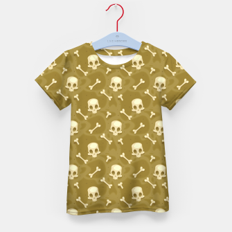 Thumbnail image of Skull Pattern - 01 Kid's t-shirt, Live Heroes