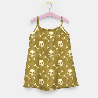 Thumbnail image of Skull Pattern - 01 Girl's dress, Live Heroes