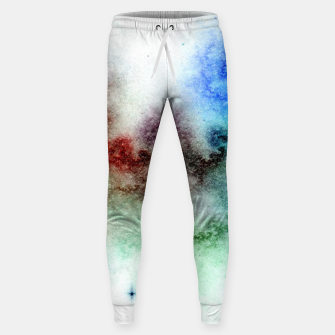 Thumbnail image of White Galaxy Sweatpants, Live Heroes