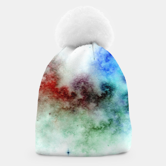 Thumbnail image of White Galaxy Beanie, Live Heroes