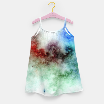 Thumbnail image of White Galaxy Girl's dress, Live Heroes