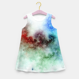 Thumbnail image of White Galaxy Girl's summer dress, Live Heroes