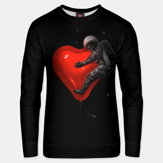 Space Love Unisex sweater miniature