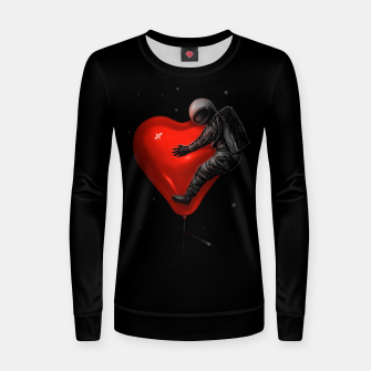 Thumbnail image of Space Love Women sweater, Live Heroes