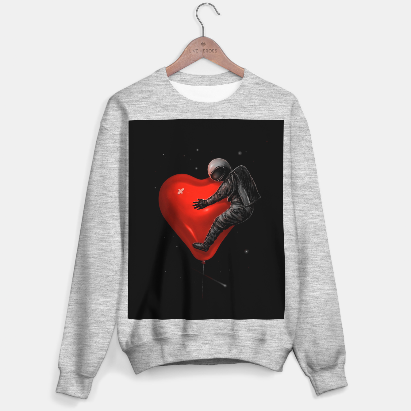 Image of Space Love Sweater regular - Live Heroes