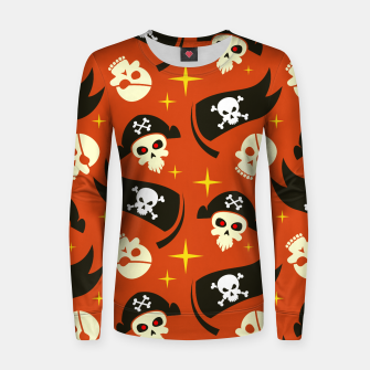 Thumbnail image of Skull Pattern - 02 Women sweater, Live Heroes