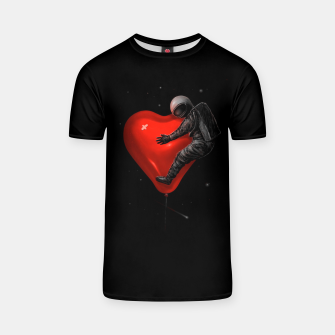 Thumbnail image of Space Love T-shirt, Live Heroes