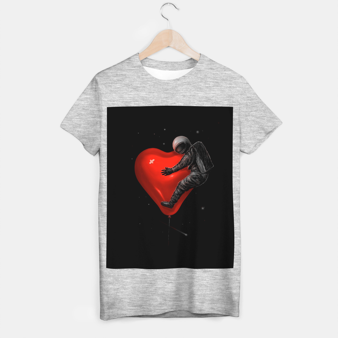 Image of Space Love T-shirt regular - Live Heroes