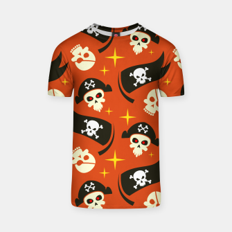 Thumbnail image of Skull Pattern - 02 T-shirt, Live Heroes