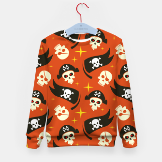 Thumbnail image of Skull Pattern - 02 Kid's sweater, Live Heroes