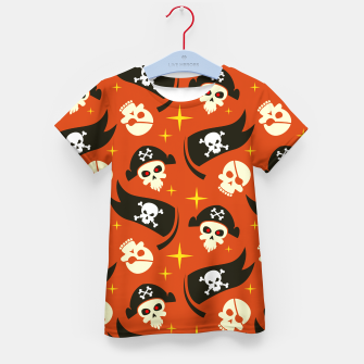 Thumbnail image of Skull Pattern - 02 Kid's t-shirt, Live Heroes