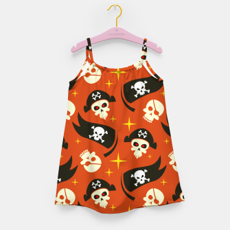 Thumbnail image of Skull Pattern - 02 Girl's dress, Live Heroes