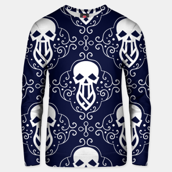 Thumbnail image of Skull Pattern - 03 Unisex sweater, Live Heroes