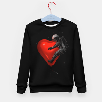 Thumbnail image of Space Love Kid's sweater, Live Heroes
